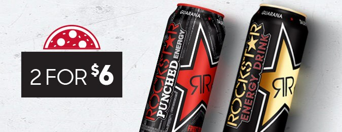 Rockstar Energy Drinks - 2 for $6