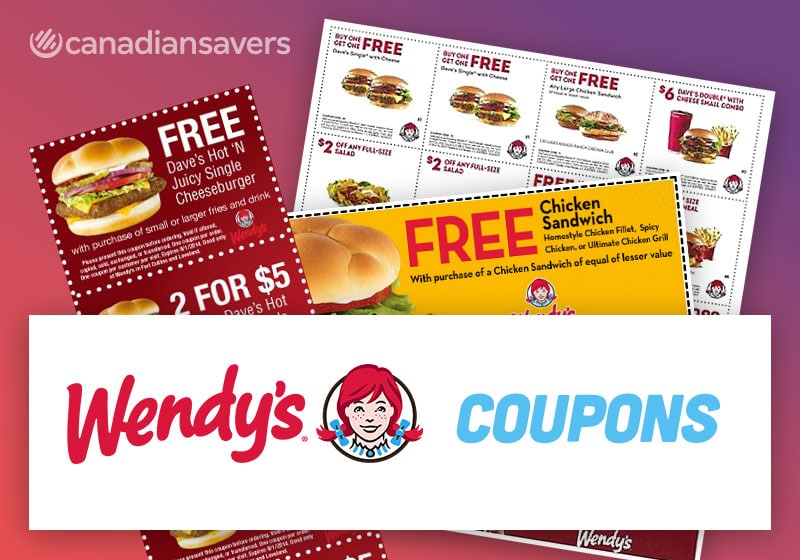 Wendys Coupons Canada