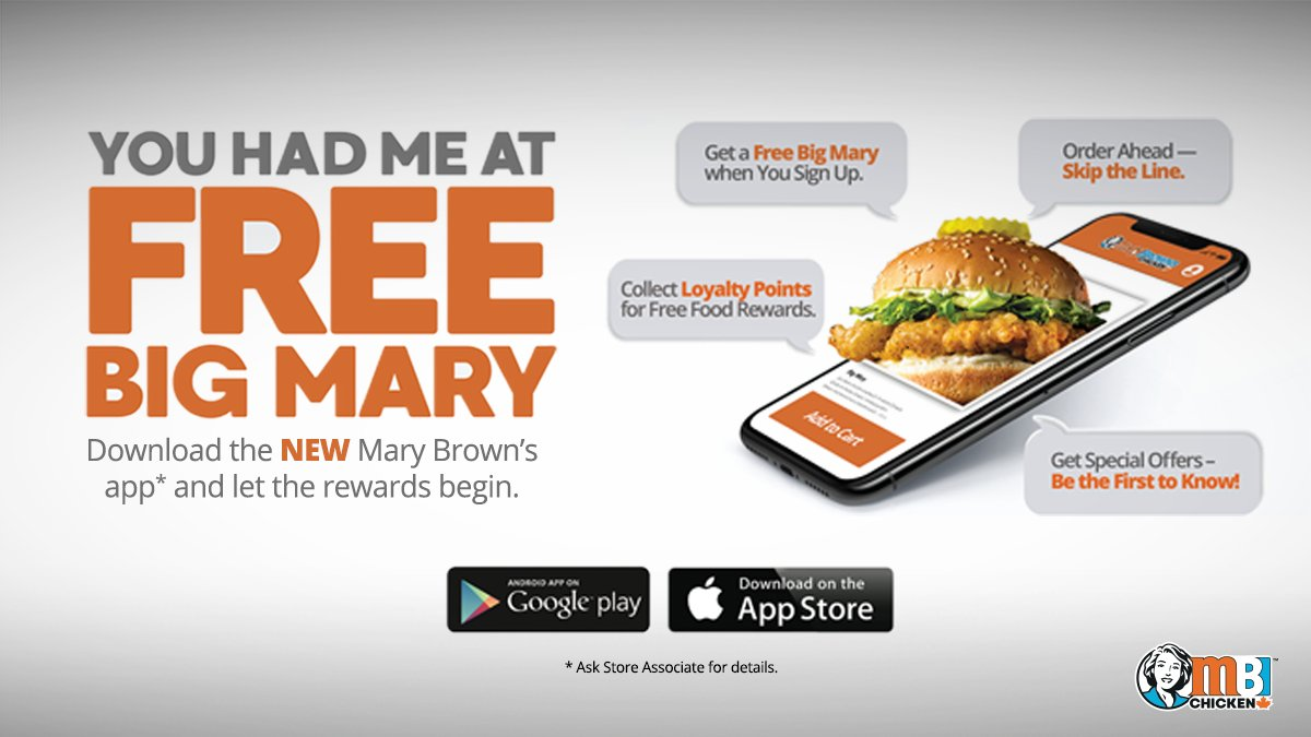 mary browns mobile app