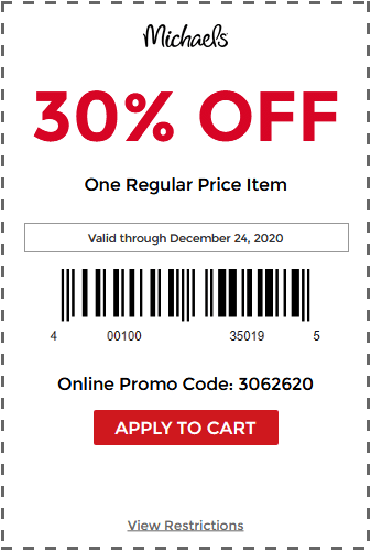 Michaels Canada Coupon