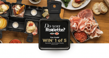 5 Raclette Packs contest