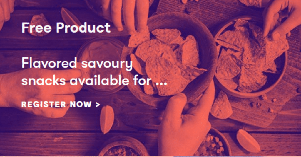 Try Flavored Savoury Snacks