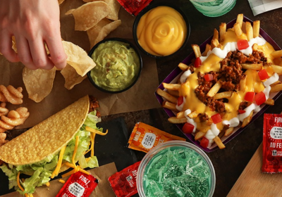 Taco Bell Tac Cuterie Board