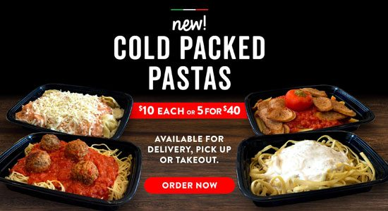 Cold Packed Pastas East Side Mario