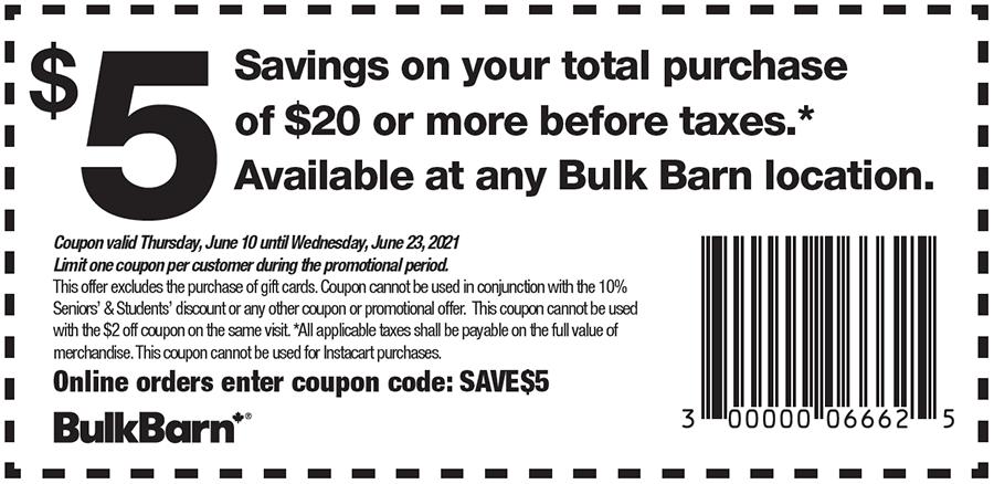 Bulk Barn coupon