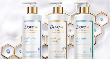 dove hair therapy