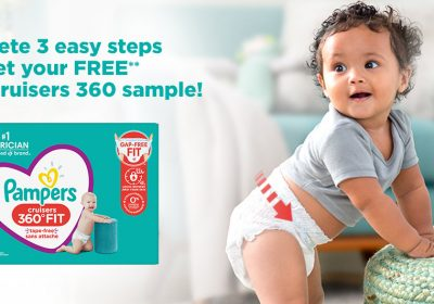 free pampers cruisers