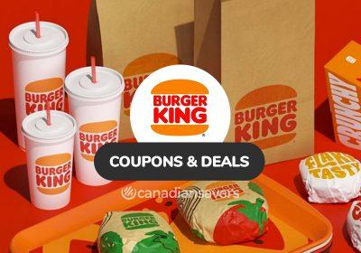 Burger King Coupons Deals