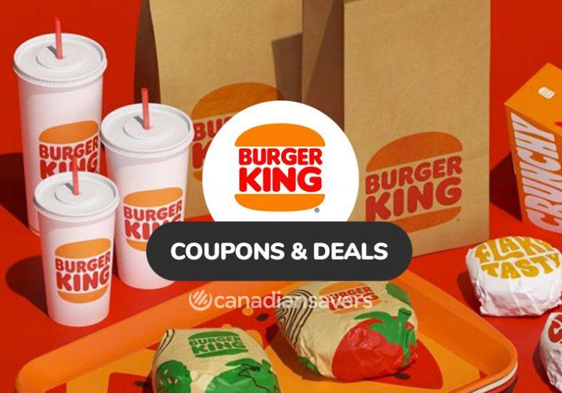 Burger King Coupons Deals 1