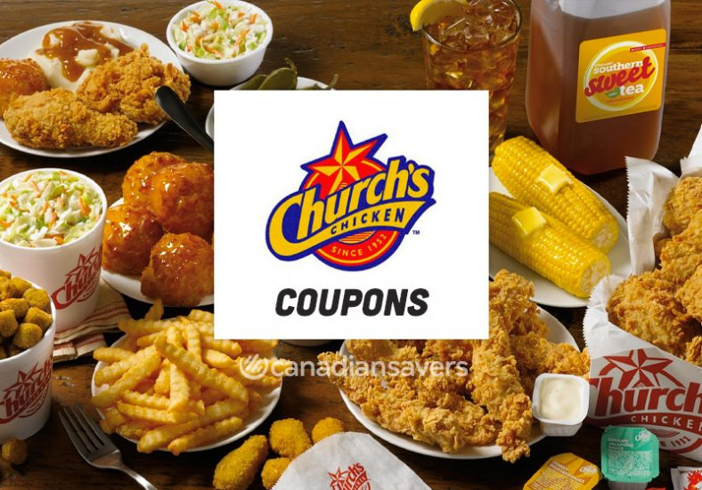 Church Chicken Coupons