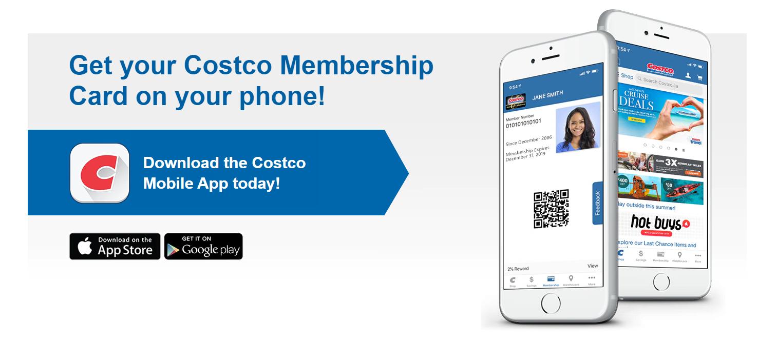 Costco's Mobile Application