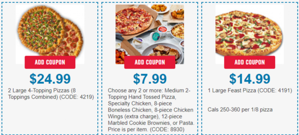 dominos coupons 1
