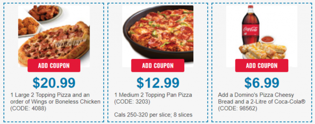 dominos coupons 2