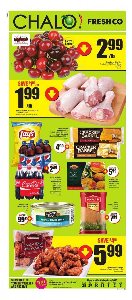 01 - Chalo! Freshco Flyer May 28 - June 3, 2020