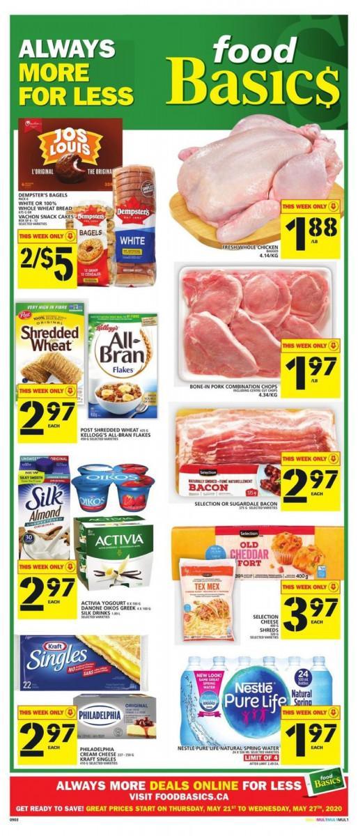 01 - Food Basics Flyer May 21 - May 27, 2020