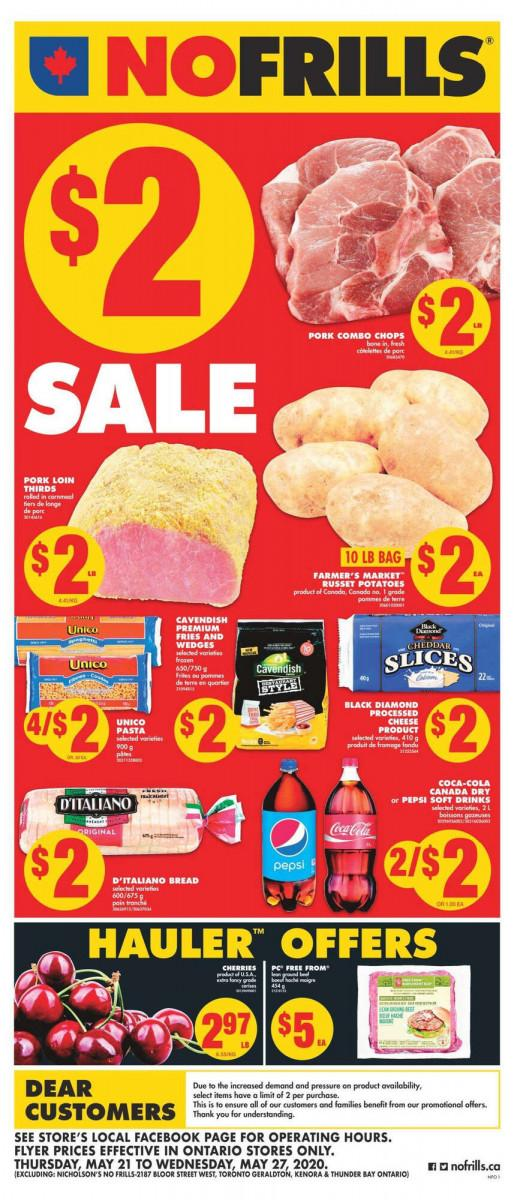 01 - No Frills (Ontario) Flyer May 21 - May 27, 2020
