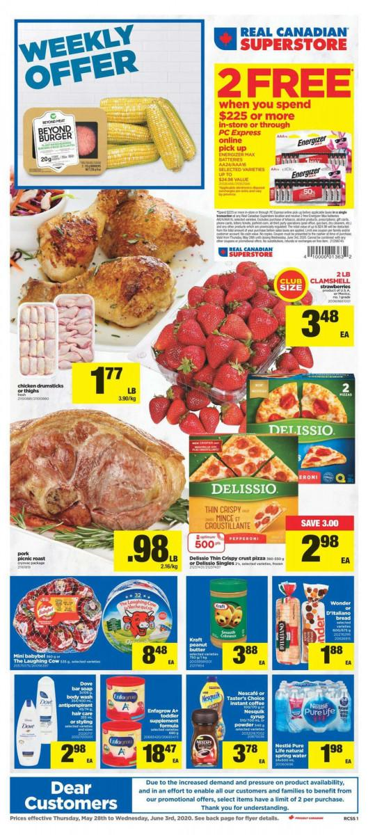 01 - Superstore (ON) Flyer May 28 - June 3, 2020