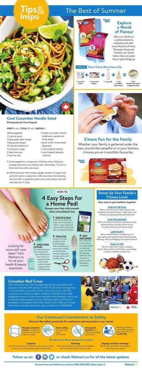 02 - Walmart Supercentre Flyer July 23 - July 29, 2020