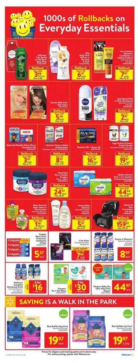 06 - Walmart Supercentre Flyer July 23 - July 29, 2020